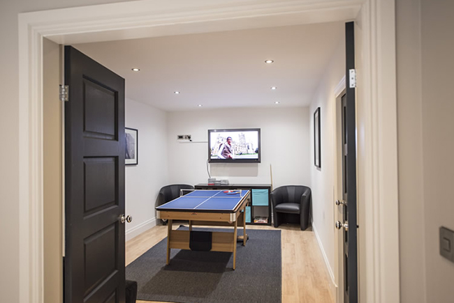 Cheshire House Games Room