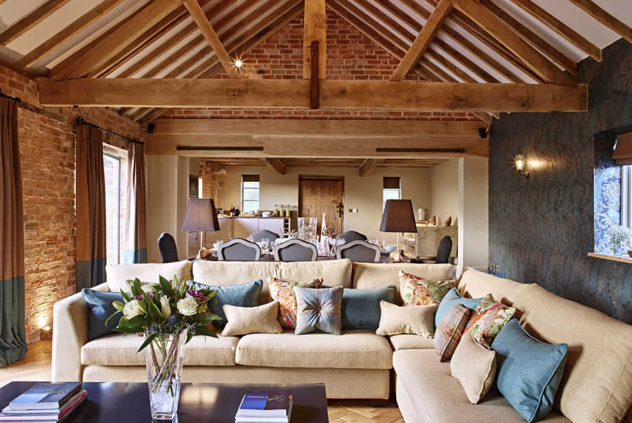 Castlemorton Barns Stables Living Room