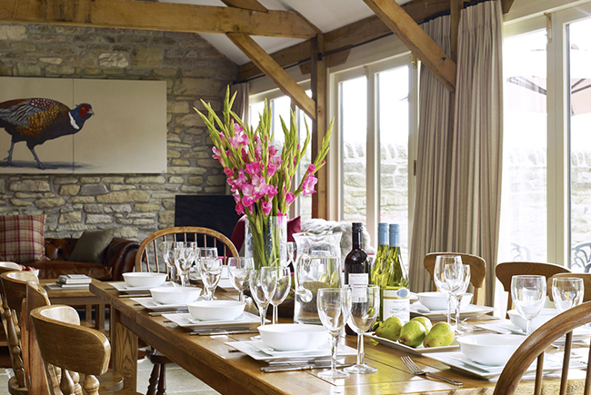 Barn The Old Byre Dining Room And Living Spaceweb Ready
