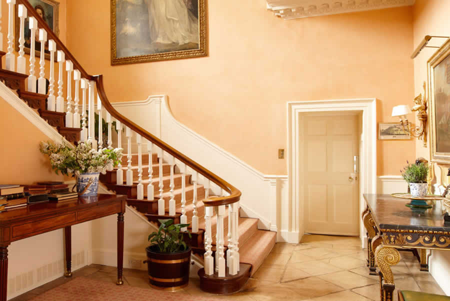 Oxfordshire Manor Staircase