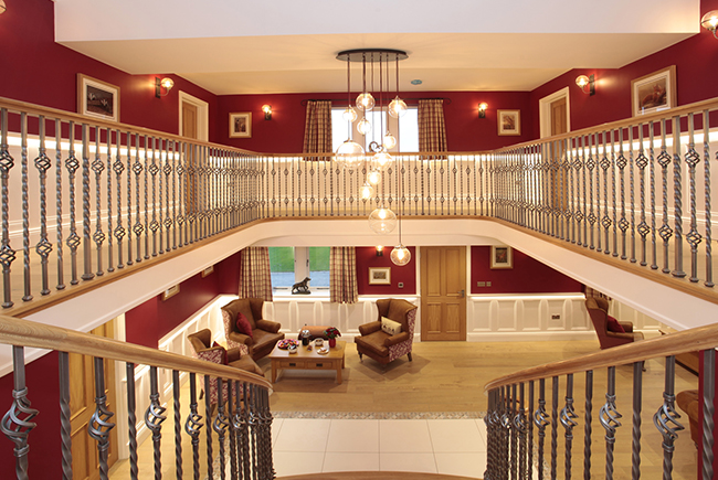 Royd Moor Manor Staircase