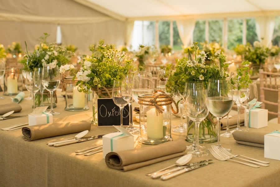 Oxfordshire Manor Marquee