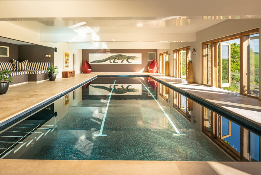 Vennlane House Devon Indoor Heated Pool