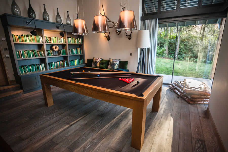 Lake Windermere House Games Room