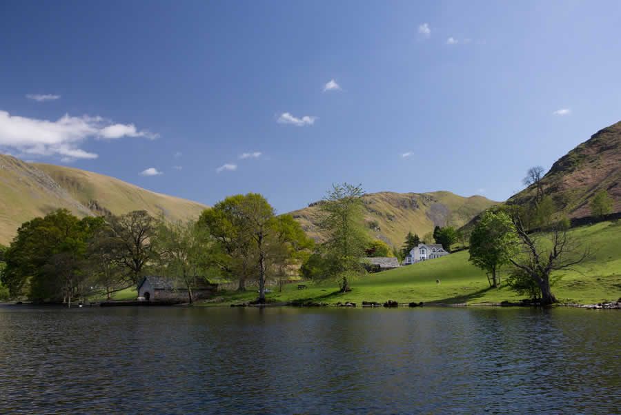 Martindale Estate From The Lake
