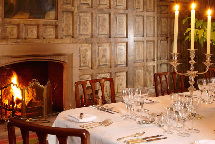 Oxfordshire Manor Dining Room