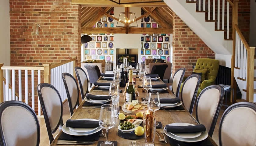 Castlemorton Barns Herefordshire Dining Table