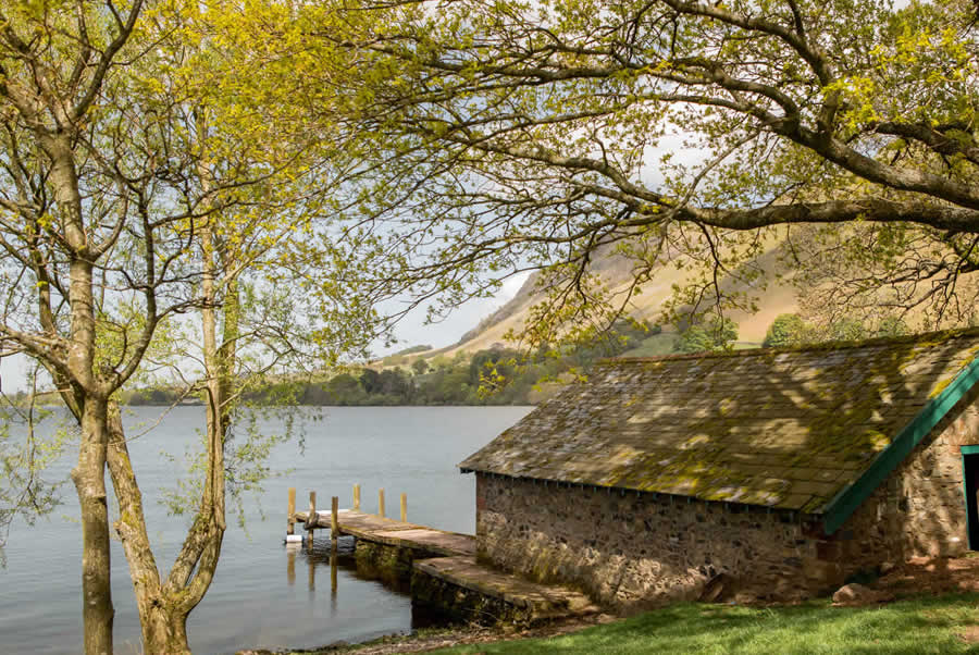 Martindale Estate Great Barn Boathouse Jetty